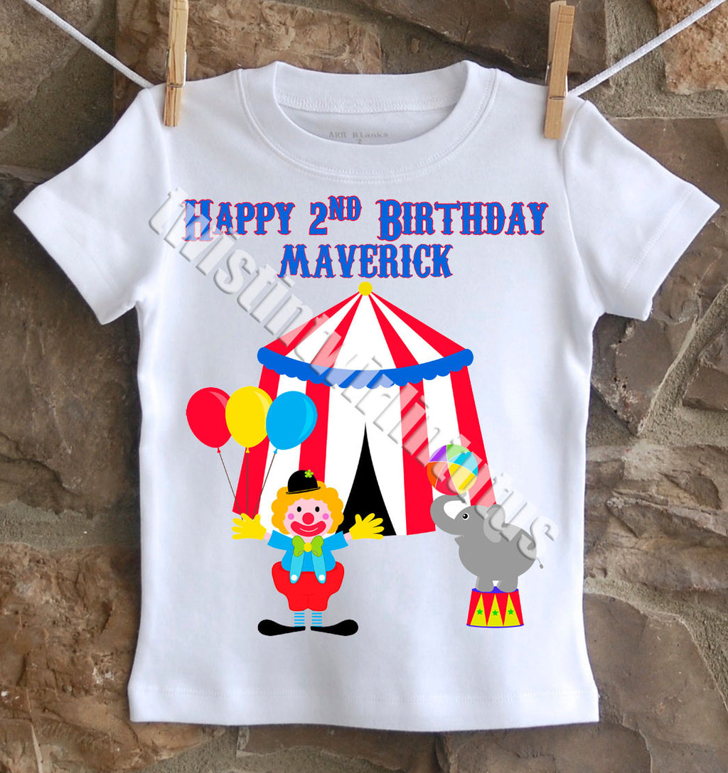 Circus Birthday Shirt