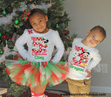 Matching Brother and Sister Christmas Outfits