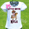 Cowgirl Little Sister Shirt