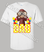 Curious George Dad Shirt