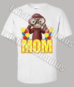 Curious George Mom Shirt