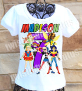 DC Superhero Girls Birthday Shirt