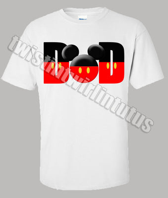 Mickey Mouse Dad Shirt