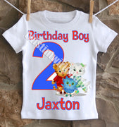 Daniel Tiger Birthday Shirt