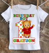 Daniel Tiger Birthday Boy Shirt
