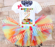 Daniel Tiger Birthday Tutu Outfit