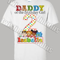 Daniel Tiger Dad Shirt