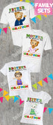 Daniel Tiger Family Birthday Shirts