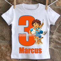Diego Birthday Shirt