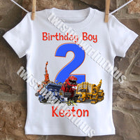 Dinotrux Birthday Shirt