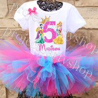 Disney Princess Birthday Tutu Outfit