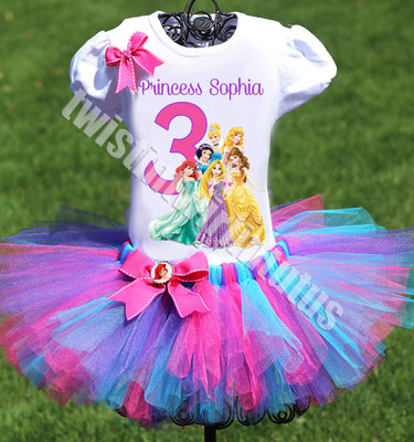 Disney Princesses Birthday Outfit