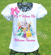 First Disney Trip Princess Shirt