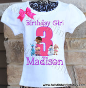 Doc McStuffins Birthday Shirt