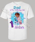 Doc McStuffins Dad Birthday Shirt