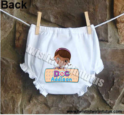 Doc McStuffins Bloomers Diaper Cover