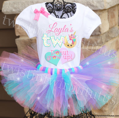 Donut Birthday Tutu Outfit