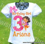 Dora Birthday Shirt