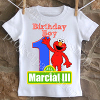 Elmo Birthday Shirt