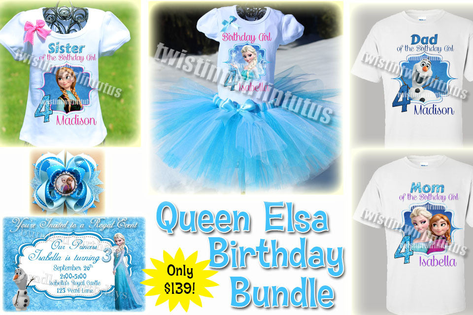 Frozen Birthday Bundle
