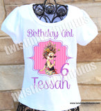 Fancy Nancy Birthday Shirt