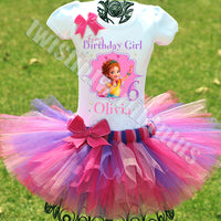 Fancy Nancy Birthday Tutu Outfit