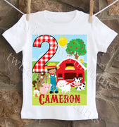 Farm Birthday Shirt