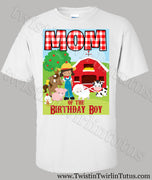 Farm Mom Birthday Shirt