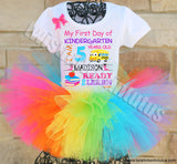 First Day of School tutu outfit