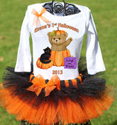 Baby's First Halloween Tutu Outfit