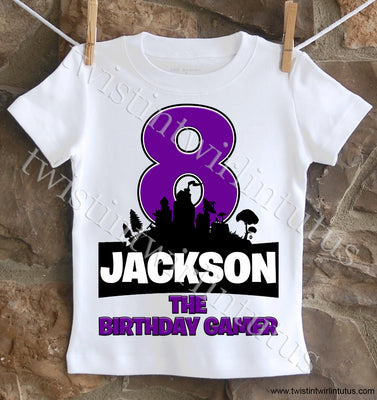 Fortnite Birthday Shirt