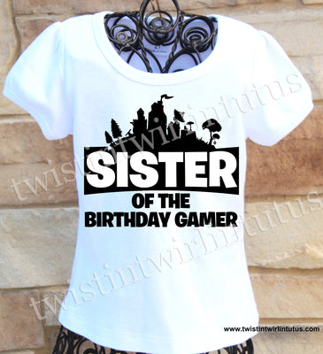 Fortnite Sister Shirt