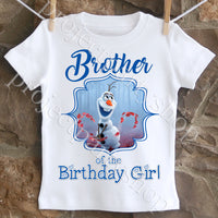 Frozen 2 Olaf Brother Shirt