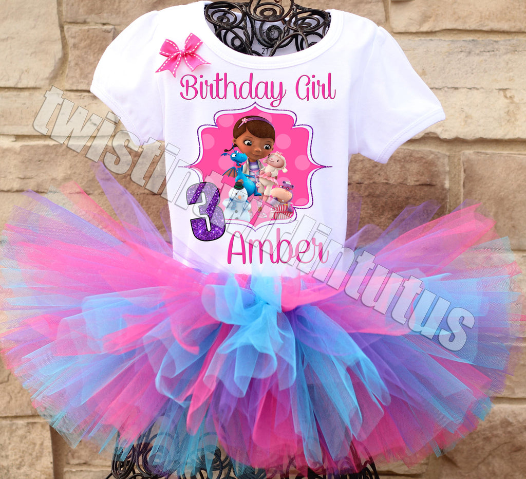 Doc McStuffins Birthday Tutu Outfit