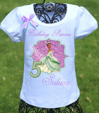 Princess Tiana Birthday Shirt
