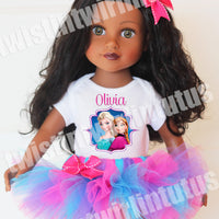 "Frozen 18"" Doll Outfit"