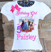 Frozen 2 Birthday Shirt