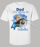 Frozen Dad Shirt