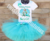 Frozen Fever Birthday Outfit