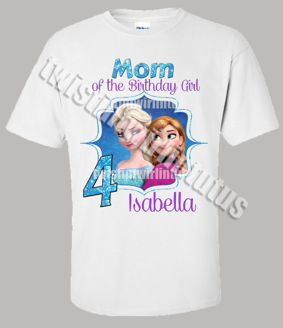 Adult Frozen Birthday Shirt