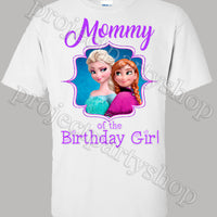 Frozen Family Birthday Shirts