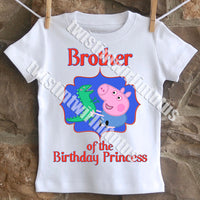 peppa pig brother shirt