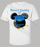 Mickey Mouse Kindergarten Preschool Graduation Dad Shirt
