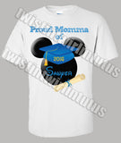 Mickey Mouse Kindergarten Preschool Graduation Mom Shirt
