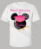 Minnie Mouse Kindergarten Preschool Graduation Mom Shirt