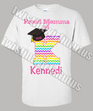Rainbow Kindergarten Graduation Mom Shirt