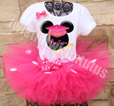 Minnie Mouse Kindergarten Preschool Graduation Tutu Outfit