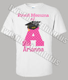 Preschool Kindergarten Graduation mom shirt