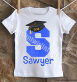 Boy kindergarten preschool graduation shirt