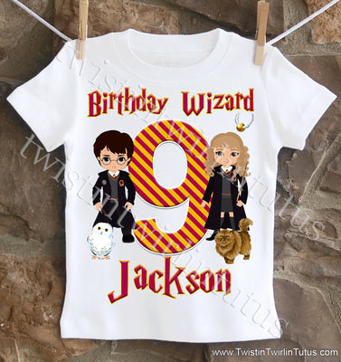 Harry Potter Birthday shirt